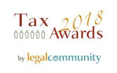 CARAVATI PAGANI SHORTLISTED FOR LEGAL COMMUNITY TAX AWARDS 2018