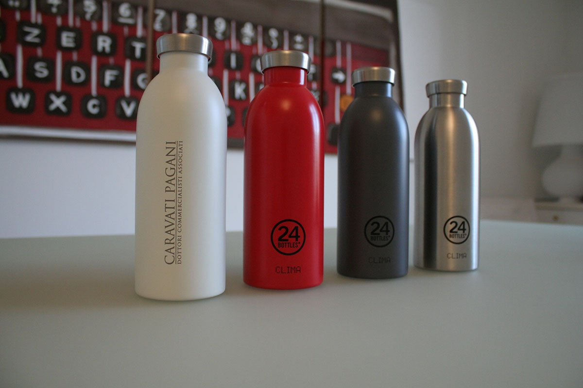 CARAVATI PAGANI GOES PLASTIC FREE WITH 24 BOTTLES®