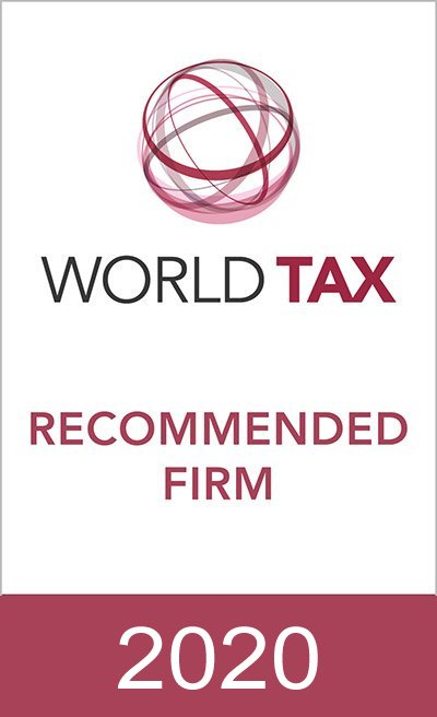 THE WORLD TAX GUIDE 2020 HAS CONFIRMED STUDIO CARAVATI PAGANI AMONG THE RECOMMENDED FIRMS FOR ITALY